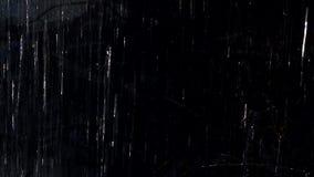 Темный дождь сток-видео