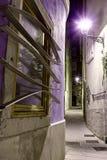 Темный переулок Стоковое фото RF