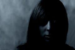 темный портрет Стоковое фото RF