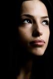 темный портрет Стоковая Фотография