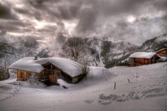 Темный подход к облаков Стоковые Изображения