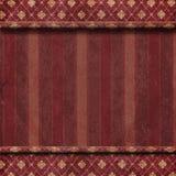 Темный - предпосылка обоев красного ковра Стоковая Фотография RF