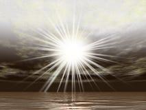 темный светить Стоковое Изображение RF