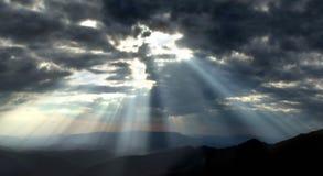 темный свет Стоковые Фото
