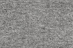Темный - серая грубая картина ткани, безшовная текстура Стоковая Фотография RF