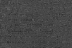 Темный - серая ткань сплетенная в квадратной форме Стоковое фото RF