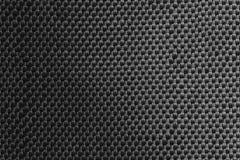 Темный - серая ткань с светлым градиентом Стоковое Фото