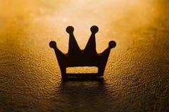 Темный символ королевства Стоковая Фотография