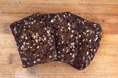Темный хлеб Стоковое Изображение