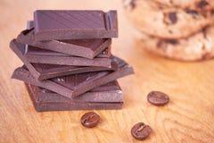 Темный шоколад Стоковые Фотографии RF