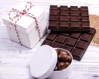 Темный шоколад Стоковое Изображение