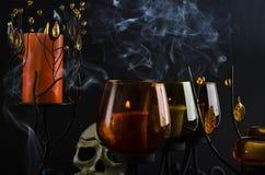 темный дым Стоковые Изображения