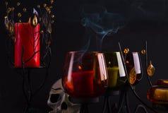 темный дым Стоковые Изображения RF