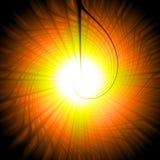 Темным абстрактным предпосылка переплетенная цветом Стоковое фото RF