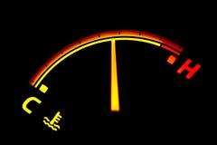 температура индикатора Стоковые Фотографии RF