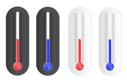 температура индикатора Стоковая Фотография
