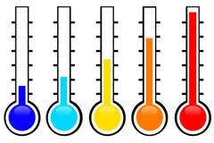 температура Стоковое Изображение