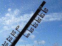 температура Стоковая Фотография RF