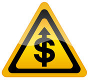 темпы роста доллара Стоковое фото RF