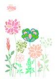 Темы весны иллюстрации вектора Иллюстрация штока