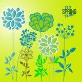 Темы весны иллюстрации вектора Бесплатная Иллюстрация