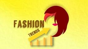 Тенденции моды Стоковое Изображение