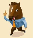 Тенденция маски лошади иллюстрация вектора