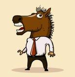 Тенденция маски 2013 лошади иллюстрация вектора