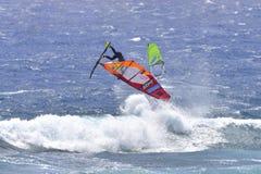 ТЕНЕРИФЕ 11-ОЕ АВГУСТА: PWA занимаясь серфингом, 11-ое августа 2017 Тенерифе Стоковые Изображения RF