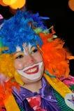 ТЕНЕРИФЕ, 17-ОЕ ФЕВРАЛЯ: Группы масленицы и костюмированные характеры Стоковые Фото