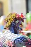 ТЕНЕРИФЕ, 13-ОЕ ФЕВРАЛЯ: Характеры и группы в масленице Стоковая Фотография