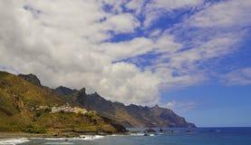 Тенерифе, одичалое побережье Стоковое Изображение RF
