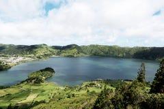 Тенистое озеро изумляя Стоковое Изображение RF
