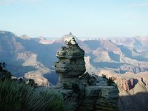 Тени в каньоне Стоковое Изображение RF