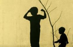 Тени детей Стоковая Фотография