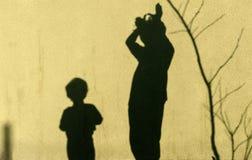 Тени детей Стоковая Фотография RF