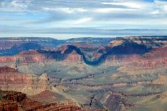 тени каньона грандиозные стоковое изображение rf