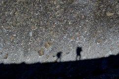 Тени на утесах стоковое фото