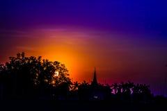 Тени неба Стоковые Изображения RF