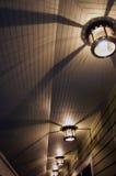 тени светов Стоковое Изображение