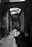 Тени улицы стоковые изображения