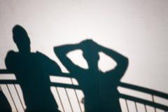 Тени людей Стоковые Фото