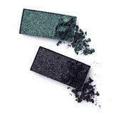 Тени для век задавленные зеленым цветом Стоковое Фото