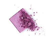 Тени для век задавленные пурпуром Стоковое фото RF