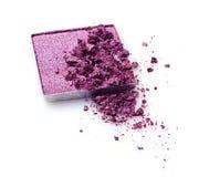 Тени для век задавленные пурпуром Стоковые Фотографии RF