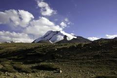 Тени Kang Yatse над равнинами Стоковые Изображения RF