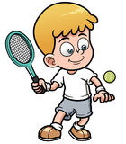 Теннисист бесплатная иллюстрация