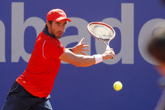 Теннисист Pablo Cuevas уругвайца Стоковое Фото