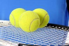 3 теннисного мяча Стоковое Изображение