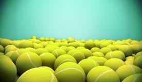 Теннисные мячи иллюстрация штока